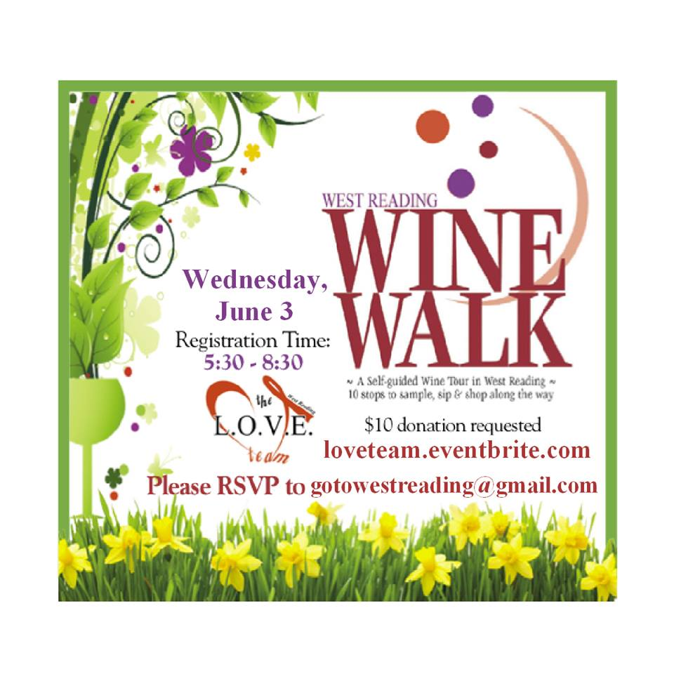 Wine Walk June 3rd 2015